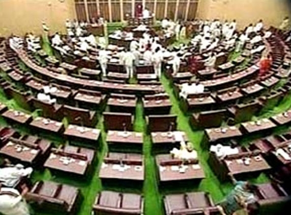 Assembly adjourned again as TDP creates ruckus over SC notices to ministers