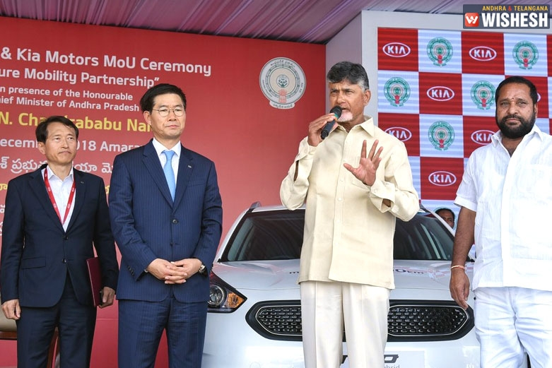 To Drive Eco Mobility, Kia Motors Signs MoU With AP Government