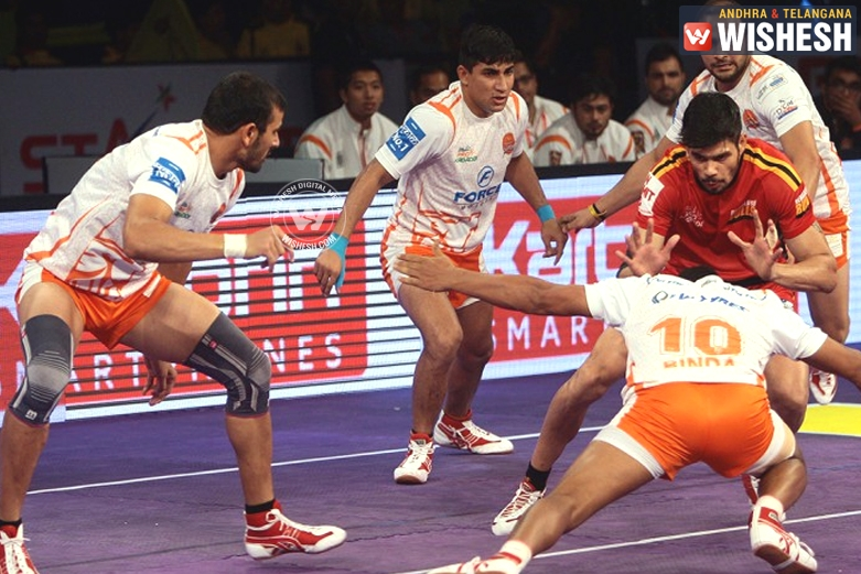 Table Toppers Puneri Paltan Lost Game Against Bengaluru Bulls 27-29