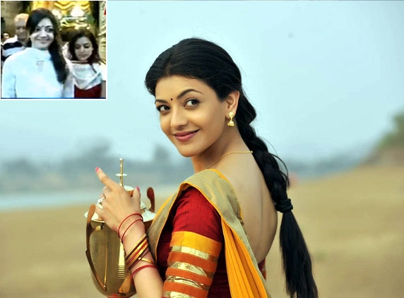 Kajal Agarwal seeks Lord Balaji's blessings