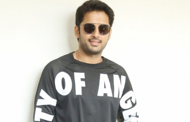 Nithiin Interview Pics