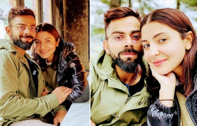 Anushka and Virat Holiday Pictures
