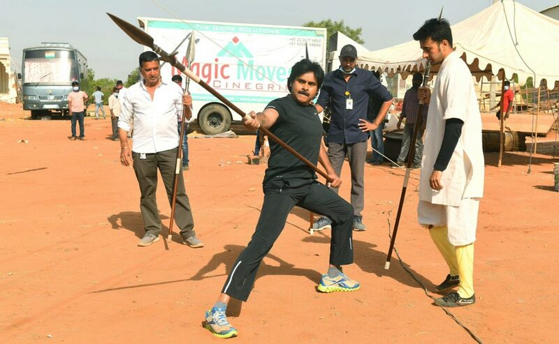 Pawan Kalyan Learns Martial Arts
