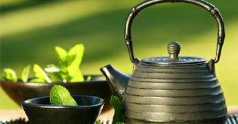 How can you use Green Tea to reduce Hair loss