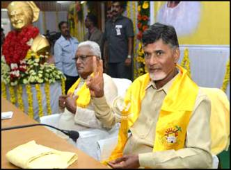 Chandrababu's road map on his promise