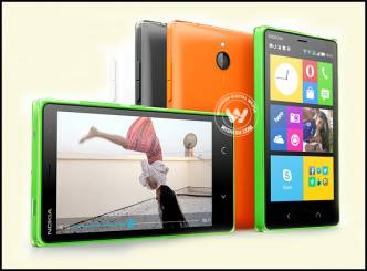 Microsoft launches Nokia Android X2