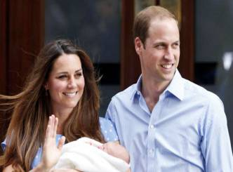 Son of Prince William Christened