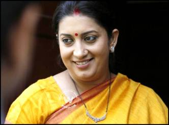 HRD minister Smriti reacts