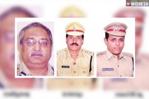 Three Top AP Police Officials Transferred Before Polls