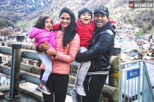 Allu Arjun And Family Holidaying In Switzerland