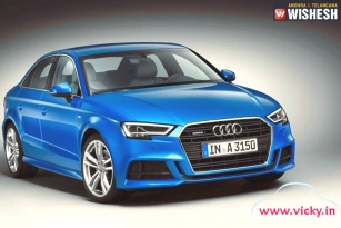 Audi A3 Facelift to Launch in India with 1.4-Litre TFSI Engine