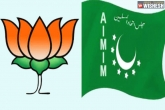 party, BJP leader, bjp in telangana to joins hands with aimim, Bjp leader