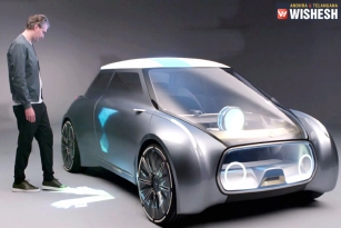 A Car That Changes Colors Based On Driver's Mood