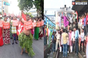 Bharat Bandh: Protests Across The Country On Fuel Price Hike