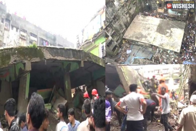 Eight Killed after a Three-storey Building Collapses in Maharashtra's Bhiwandi