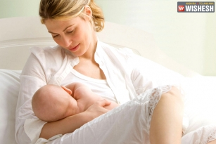 Breast feeding protects kids from air pollution