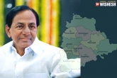 TRS, Telangana, cm kcr firm on adding three more districts in telangana, Warangal