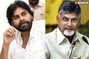 Chandra Babu Extends Support for Pawan Kalyan