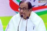 Chidambaram news, P Chidambaram, chidambaram slams centre for poor economy, Gdp