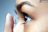 Contact lenses news, Contact lenses, 27 contact lenses removed from a woman s eye, Contact lense