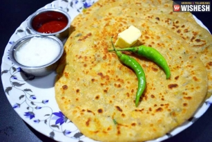 Easy And Healthy Corn Paratha Recipe