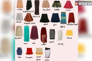 The Top Five Skirt Styles That Every Fashionista Must Have In Her Wardrobe