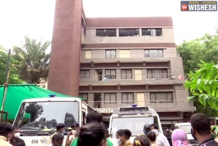 Eight Dead in a Fire Breakout in COVID Hospital