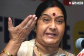 Sonia, BJP, congress s jibes on sushma out of frustration of electoral defeats, Frustration