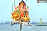 water, diversions, ganesh immersion to continue today in hyderabad, Ganesh immersion