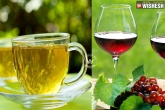 green tea and red wine reduces cold, flavonoids in green tea and red wine helps in reducing cold, green tea red wine reduces cough and cold risk, Red wine
