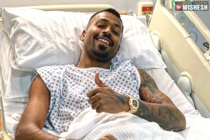 Hardik Pandya's Back-Surgery Successfully Completed In London