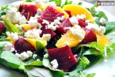 healthy salad recipes, beetroot and orange recipes, healthy beetroot feta and orange salad, Orange