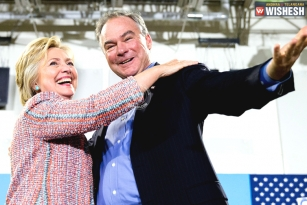Hillary Clinton chose Tim Kaine as VP