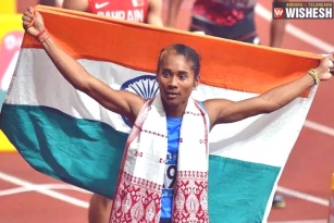 India Lauds Hima Das On Winning Five Gold Medals