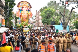 Ganesh Immersion Starts in Hyderabad