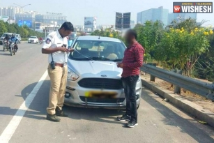 Two Hyderabad Vehicles Caught With Over 100 Pending Challans