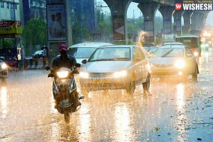 Two Dead After Heavy Rains Lashed Hyderabad