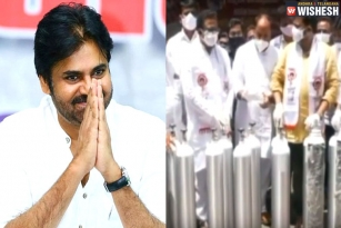 Janasena Leaders to Donate 315 Oxygen Cylinders