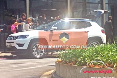 The Jeep new Compass will be going to hit the market very soon