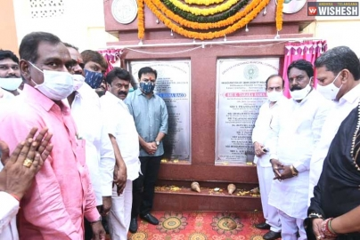 KTR Inaugurates 2 BHK Houses in Hyderabad