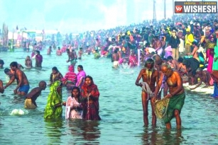Pilgrims Face Skin Problems after taking Holy Dip