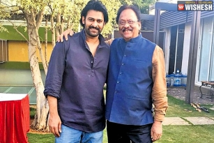Krishnam Raju to Surprise in Prabhas' Radhe Shyam