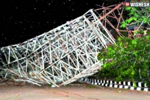 Two Dead After LB Stadium Tower Collapses in Hyderabad