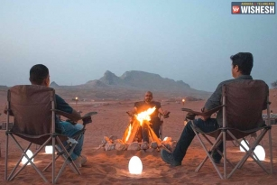 Mahesh Shooting for an Action Chase in UAE