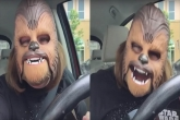 funny videos, Woman hysterically laughs, woman laughs hysterically over star wars toy, Funny videos