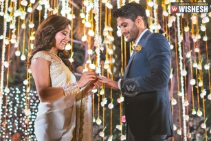 Chaitu and Sam Finally Get Engaged in a Private Affair in Hyderabad