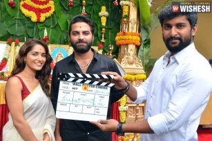 Nani's Second Production 'HIT' Launched