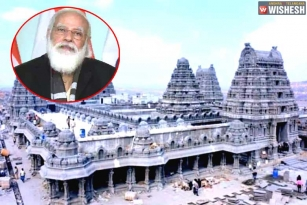 Narendra Modi To Inaugurate Yadadri Temple