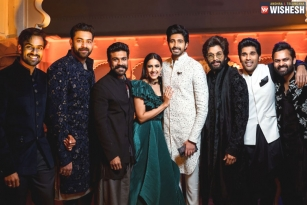 Mega Family's Gala Time In Udaipur