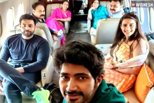 Niharika And Family To Udaipur For The Mega Wedding